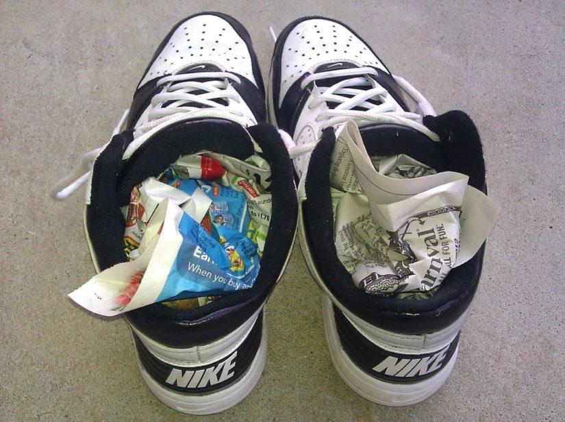 можно ли сушить обувь на батарее